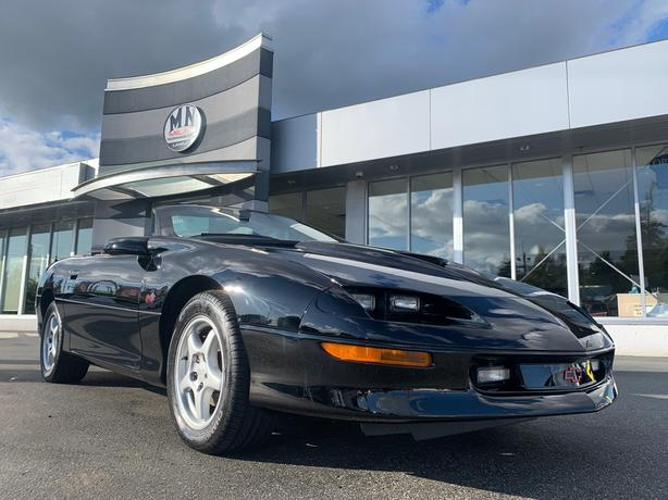 Used 1996 Chevrolet Camaro Z28 SS CONVERTIBLE 6SPD MANUAL LIKE NEW 40KM Converti