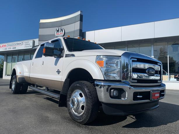 Used 2014 Ford F-350 Lariat FX4 4WD DIESEL DRW DUALLY NAVI SUNROOF CAME Truck Cr