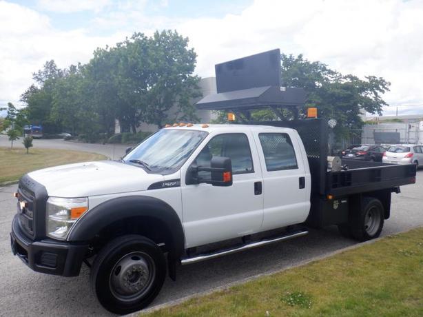2012 Ford F-550 Dump Truck Crew Cab Dually  2WD