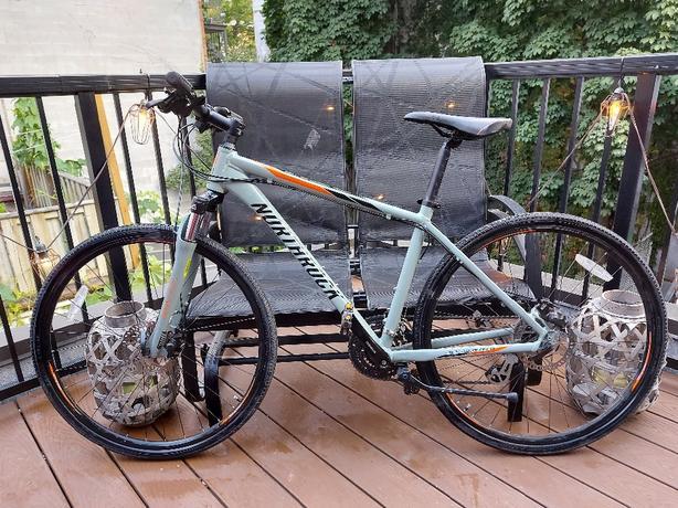 northrock ctm bike aluminum frame