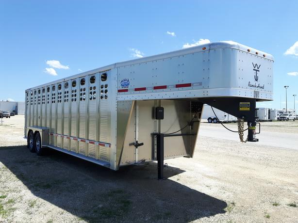 2020 Wilson 24 PGSN Ranch Hand Stock Trailer HH4458