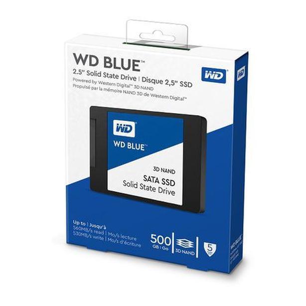 WD Blue 3D NAND 500GB Internal PC SSD