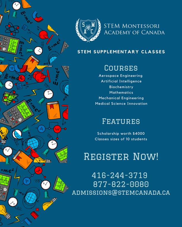 Register for Online Supplementary Class Today!