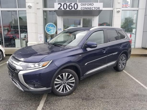 2020 Mitsubishi Outlander GT 7 Passenger-Leather-Sunroof-S-AWC 4WD