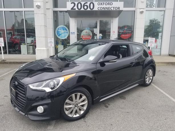 2016 Hyundai Veloster Turbo Navigation-Leather-Sunroof FWD