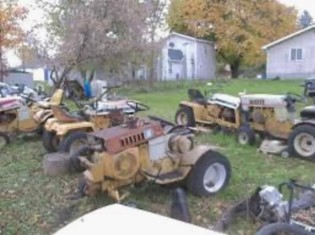 looking for lawn tractor parts