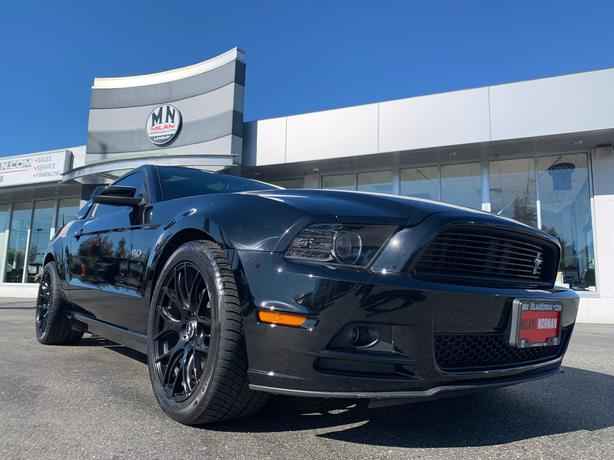 Used 2014 Ford Mustang GT 5.0L 6SPD LEATHER GLASS-TOP LOTS OF EXTRAS Coupe