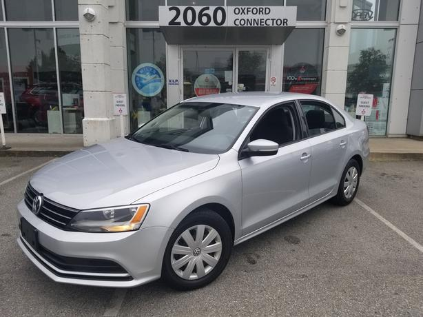 2016 Volkswagen Jetta Trendline Power Group-A/C-Automatic FWD
