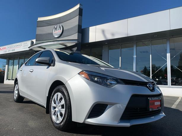 Used 2016 Toyota Corolla CE AUTOMATIC PWR GROUP A/C Sedan