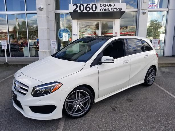 2016 Mercedes-Benz B-Class B 250 Sports Tourer Navigation-Leather-Sunroof AWD