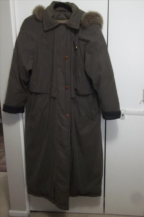 Winter coat size 10 down duvet UTEX