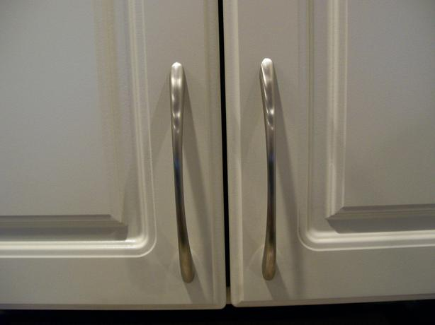 Brushed Chrome Cupboard Handles