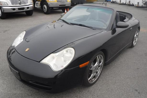 2003 Porsche 911 Carrera 4 Cabriolet Soft Top Convertible