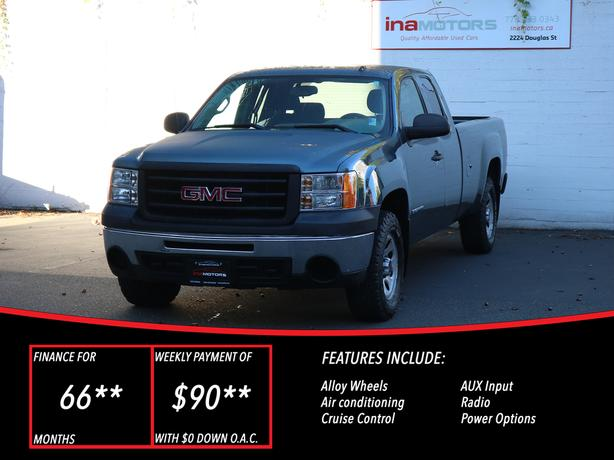 2012 GMC Sierra 1500 Work Truck 4WD - LOCAL BC TRUCK - NO ACCIDENTS!