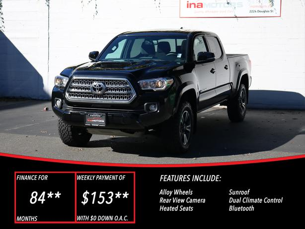 2016 Toyota Tacoma TRD 4X4 Sport - LOCAL BC TRUCK - NO ACCIDENTS!