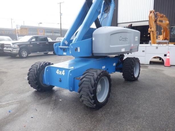 2009 Genie S85 85 Foot Telescopic Boom Lift Diesel 4x4