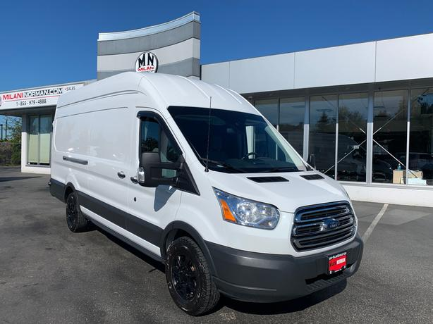 Certified Pre-Owned 2018 Ford Transit-250 EXTENDED HIGH-ROOF ECO-BOOST CARGO REA
