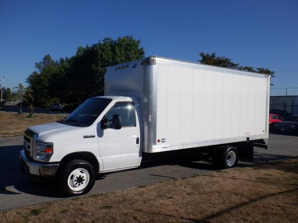 2017 Ford Econoline E-450 16 Foot Cube Van With Ramp