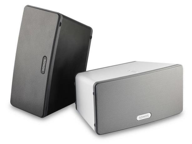 MINT CONDITION SONOS PLAY 3 - IN BLACK AND WHITE