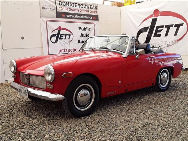 1975 MG MIDGET CONVERTIBLE LIVE FOR AUCTION!