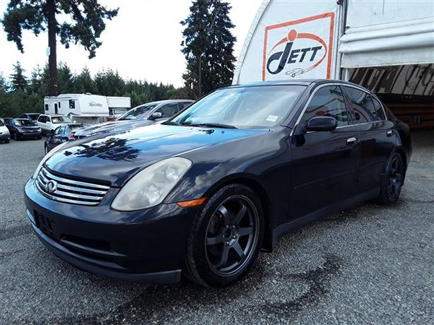 2004 INFINITI G35 LIVE FOR AUCTION!