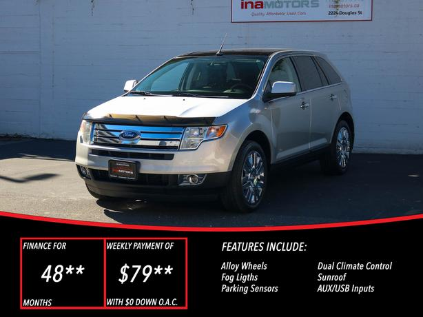 2009 Ford Edge Limited AWD - LOCAL BC SUV!