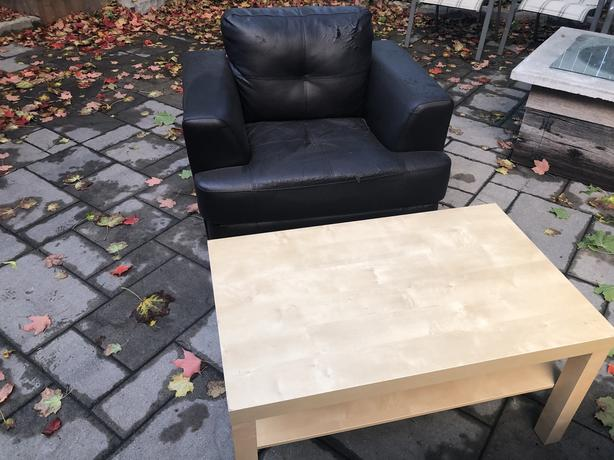 FREE: Couch, Chair, Coffee Table