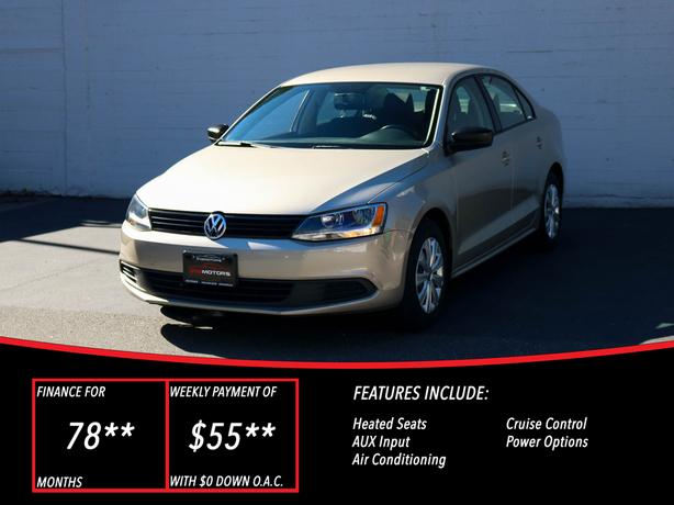 2013 Volkswagen Jetta Trendline - LOCAL BC SEDAN - NO ACCIDENTS!