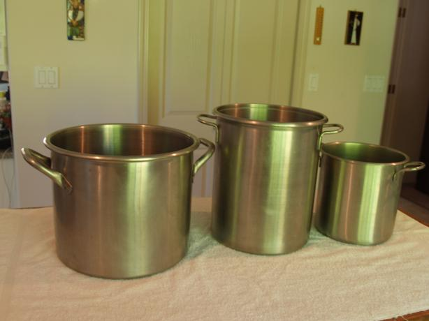 Stainless pots made in USA