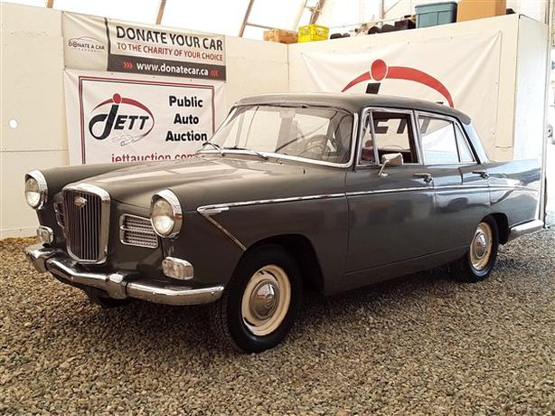 1962 WOLSELEY LIVE FOR AUCTION!