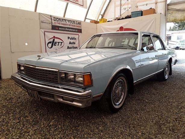 1978 CHEVROLET CAPRICE LIVE FOR AUCTION!