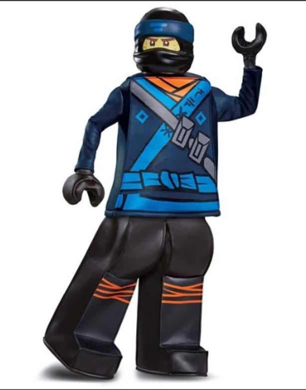 Lego Ninjago Jay Halloween costume