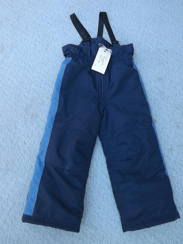 Snow Pants Child Size 3x Navy with Bib