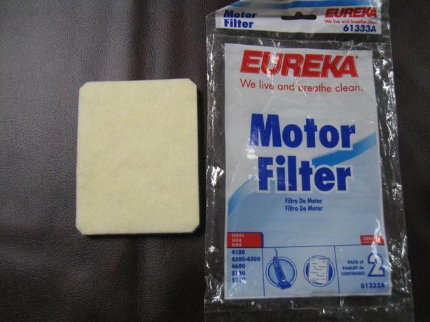 Eureka Vacuum Motor Belt & Filter