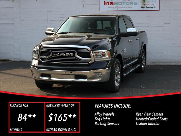 2016 Ram 1500 Limited 4WD ECODIESEL - NO ACCIDENTS!