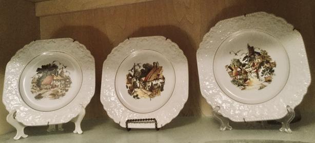 Vintage Mid-century (1950s) Lord Nelson Plates