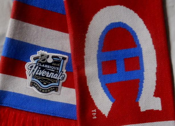 MONTREAL CANADIENS WINTER HIVERNALE CLASSIQUE SCARF