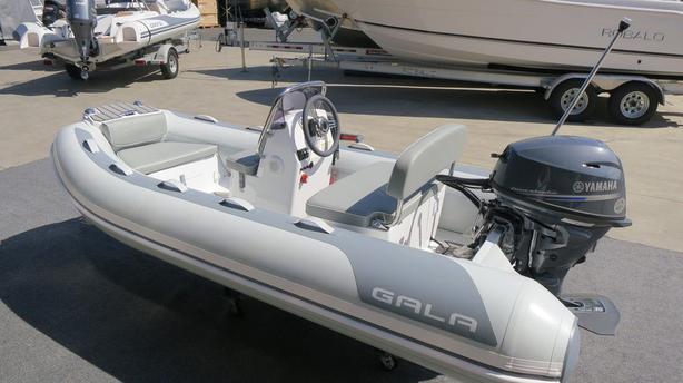 2020 Gala Deluxe RIB A300HL w/SeaDeck