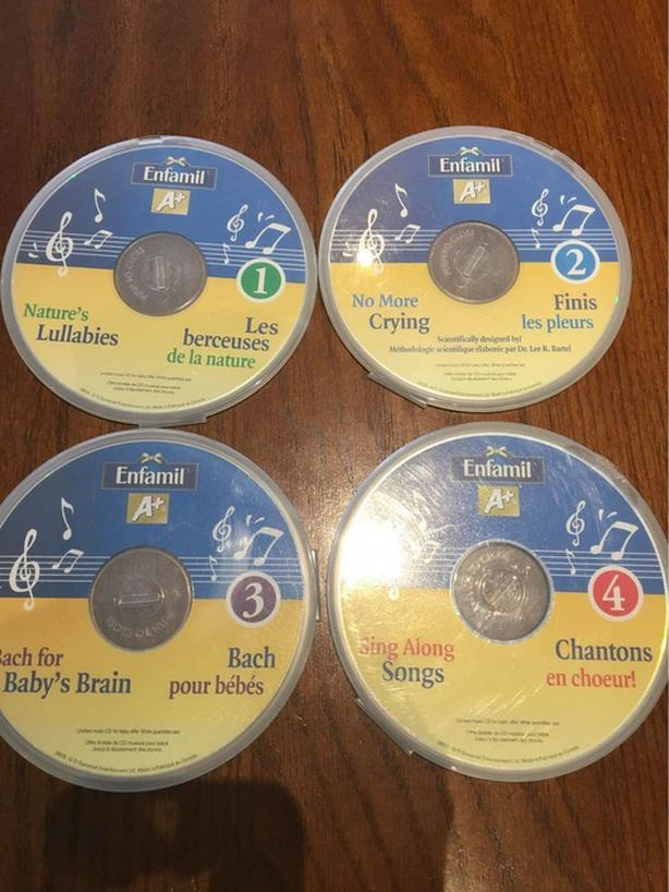 MUSIC CDs FOR BABIES