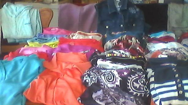 Ladies Tops, pants, pyjamas and much more