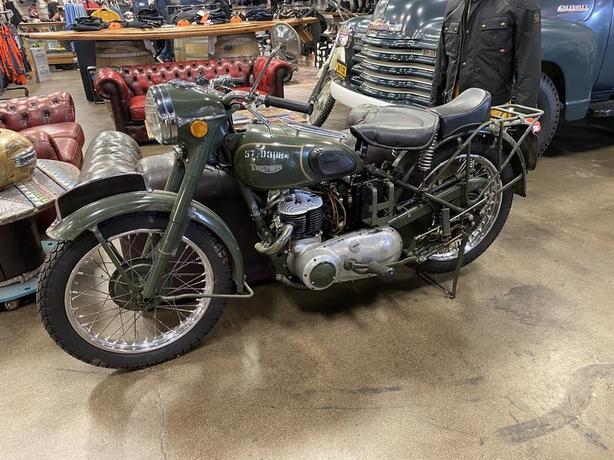 1957 Triumph TRW500