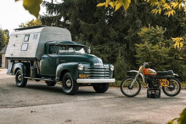 1952 Chevrolet 3800 Camper STEVE MCQUEEN