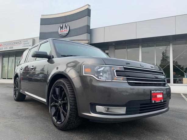 Used 2016 Ford Flex SPORT AWD LEATHER SUNROOF NAVI CAM 7-PASS SUV