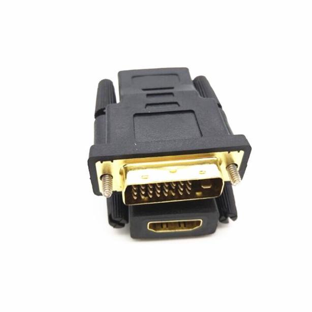 New DVI male to HDMI female adapter