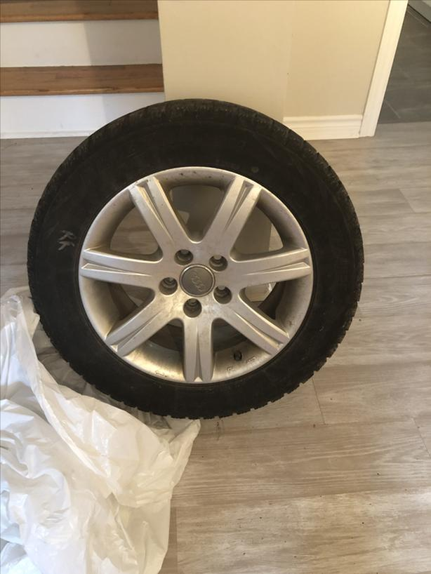 "4x16"" tire/wheel package for Audi/VW"