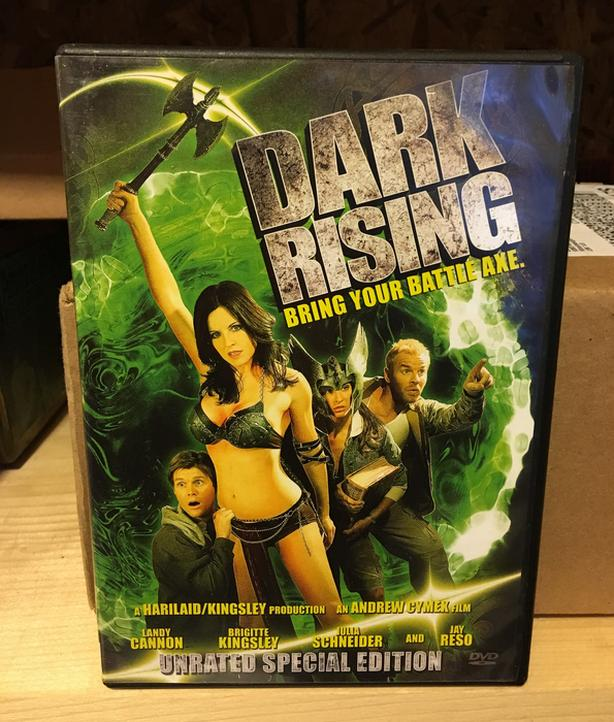 """DARK RISING"" DVD MOVIE UNRATED SPECIAL EDITION"