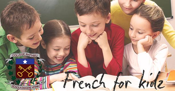 French for Kidz language classes - next semester  October 5