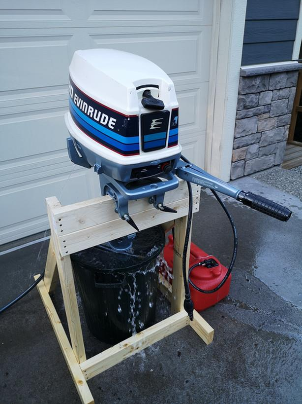20hp Evinrude Outboard in Excellent Condition