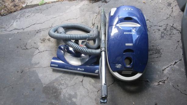 Kenmore canister vacuum. HEPA, Power head, mini-Power head