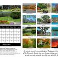 2021 Fredericton Calendar